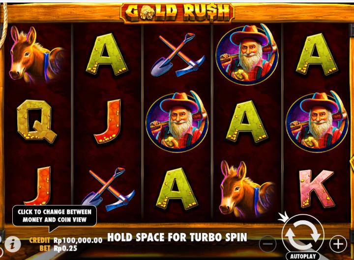 Cara bermain Gold Rush
