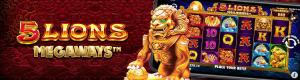 5 Lions Megaways Pragmatic Play